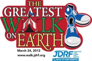 Juvenile Diabetes Research Foundation (JDRF) North Florida - Greatest Walk on Earth
